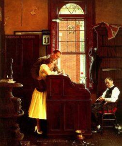 Norman Rockwell's Town Clerk